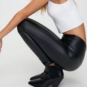 Aritzia Wilfred Free Daria Faux Leather Legging